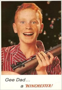 vintage winchester rifle ad