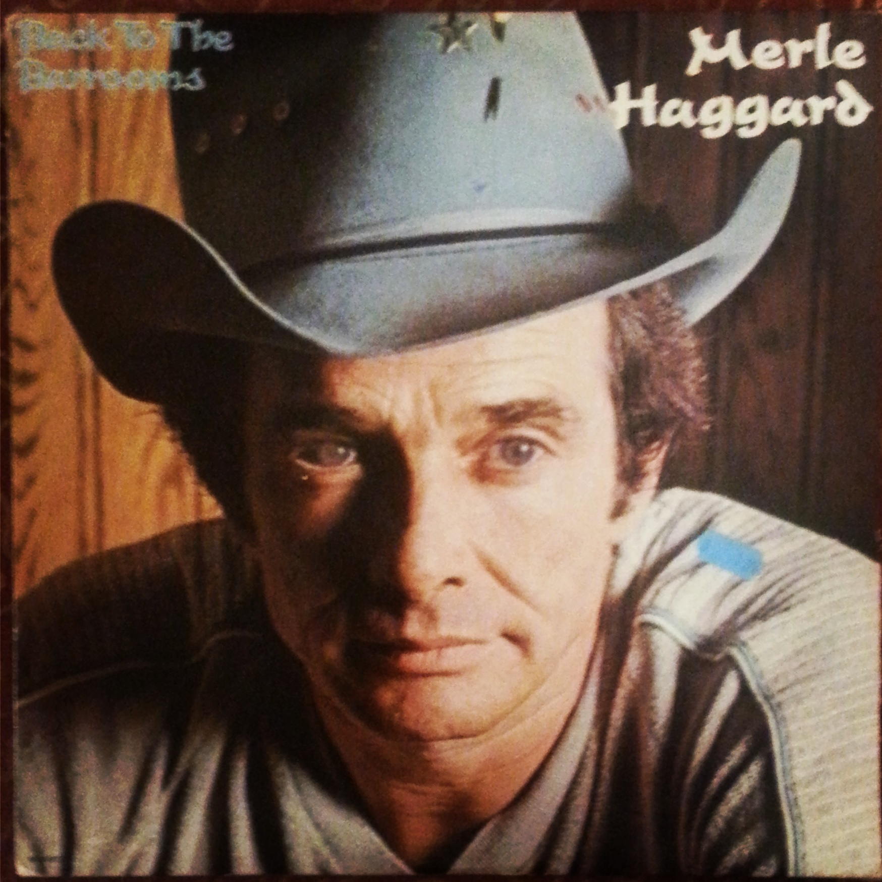 "Merle Haggard classic vinyl ""Back to the Barrooms"""