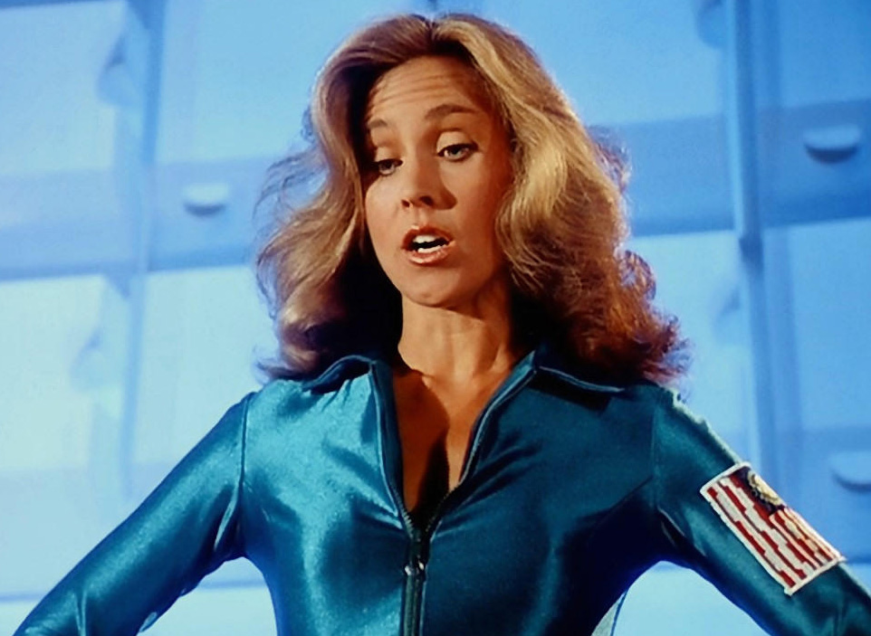 Erin Gray in Buck Rogers