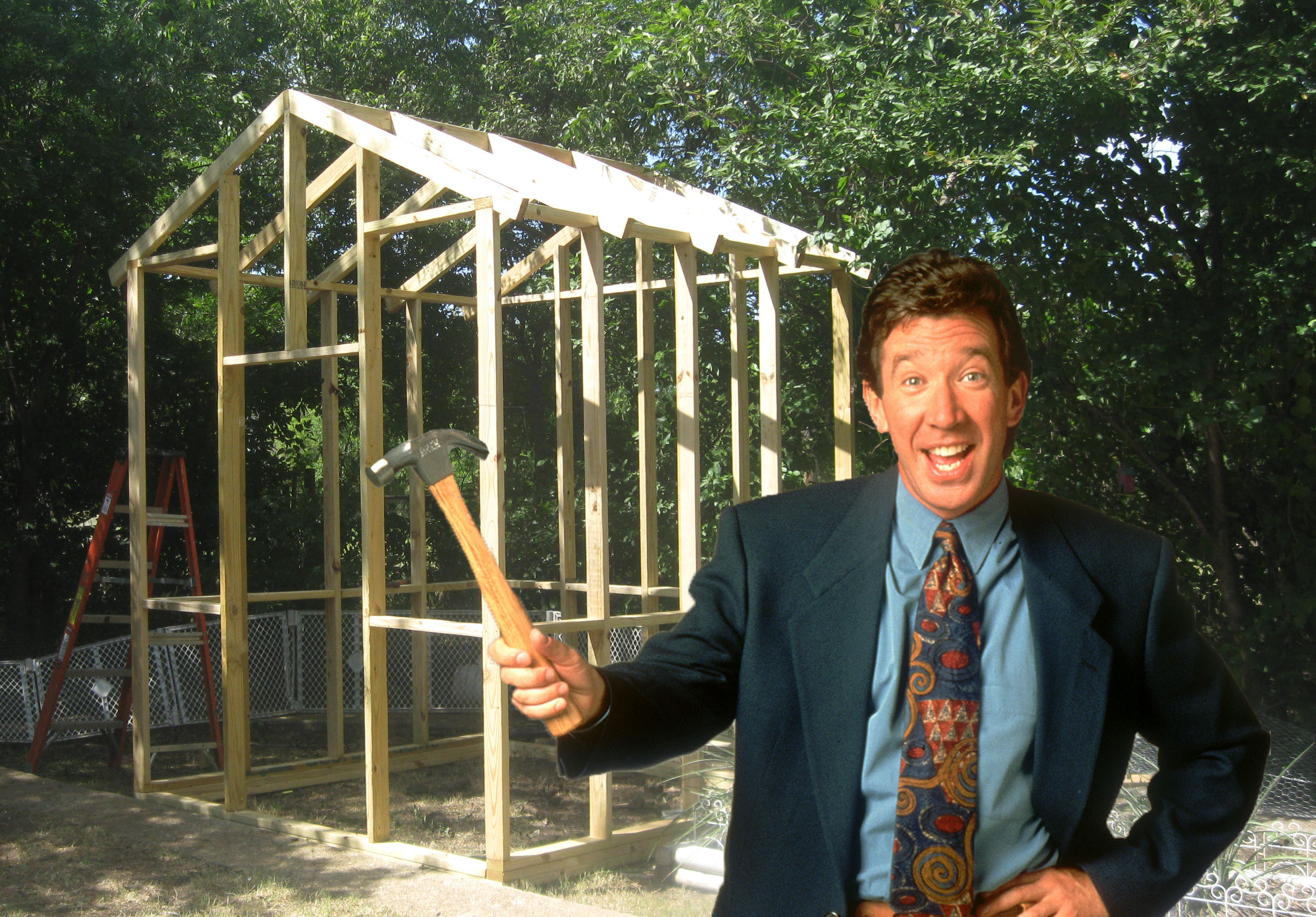tim allen chicken coop