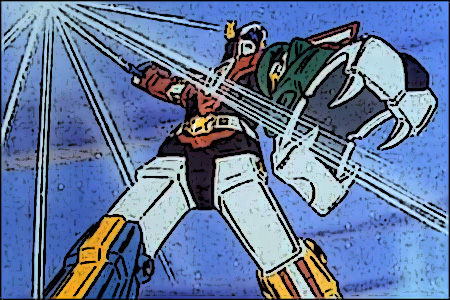 Voltron cartoon