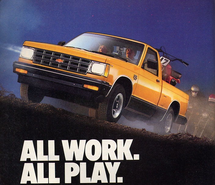three wide s-10 ad