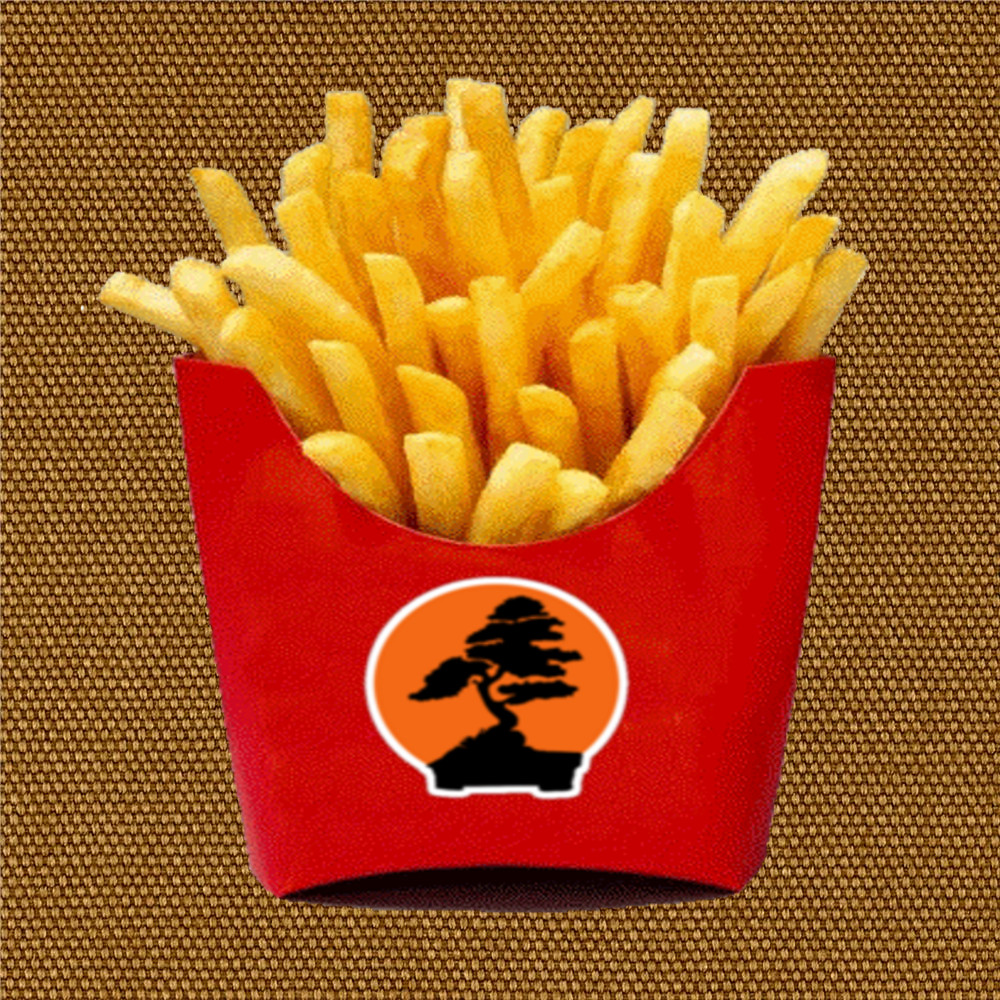 bonsai and french fry